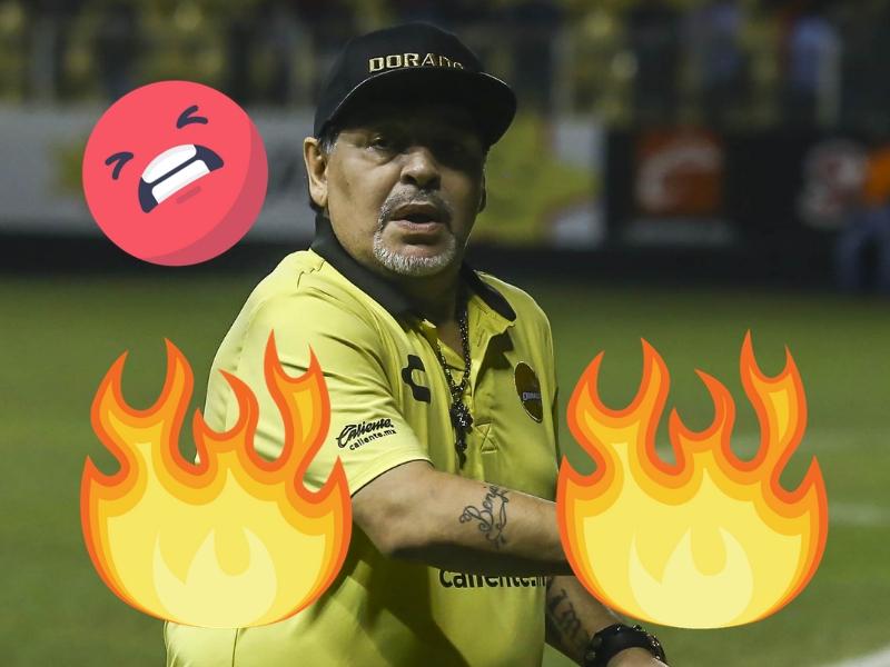 Maradona 'estalla' contra detractores