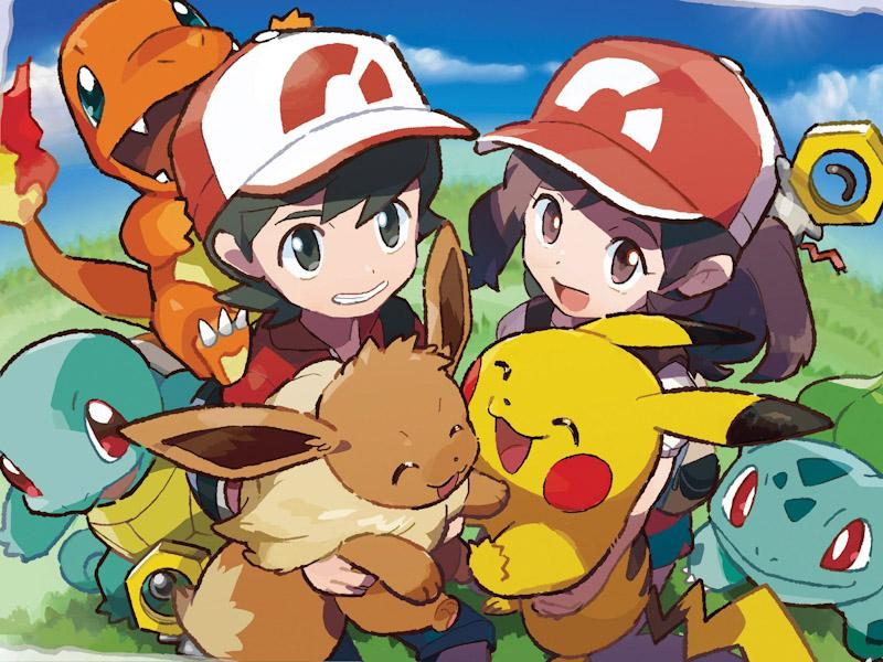 Checate el tráiler de Pokémon: Let's Go, Pikachu/Eevee