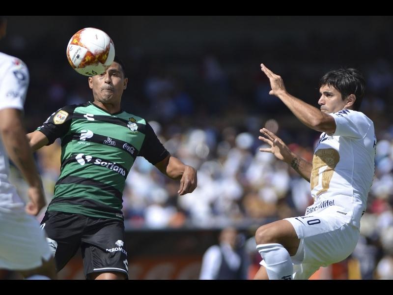 Pumas y Santos terminan empatados