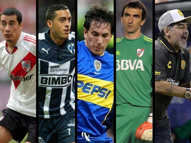 TOP 5: Jugadores que pasaron por River y Boca y juegan en la Liga MX