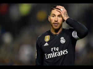 Ramos salió positivo en dopaje durante la final de la Champions
