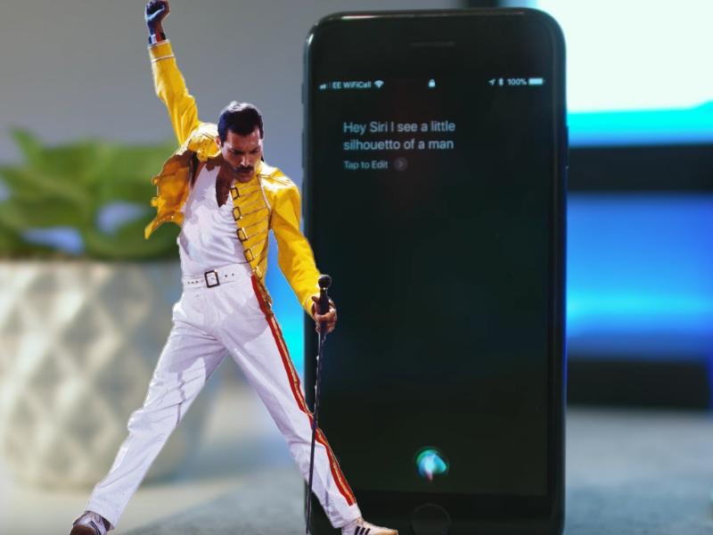 Siri y Freddie Mercury unen sus voces