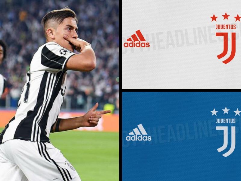 Filtran los nuevos uniformes de la Juventus