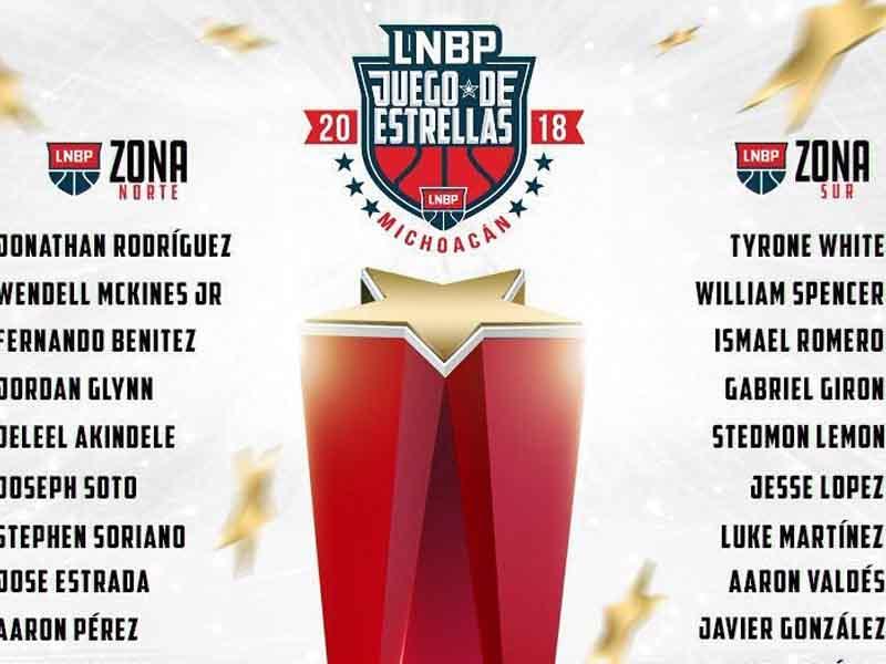 Seleccionados para el Juego de Estrellas de la LNBP
