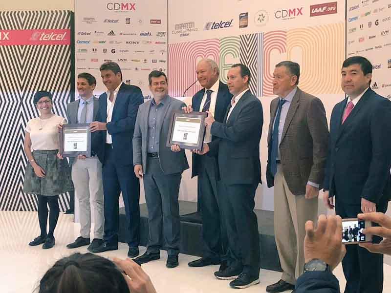 Maratón CDMX recibe la Etiqueta Oro de la IAAF