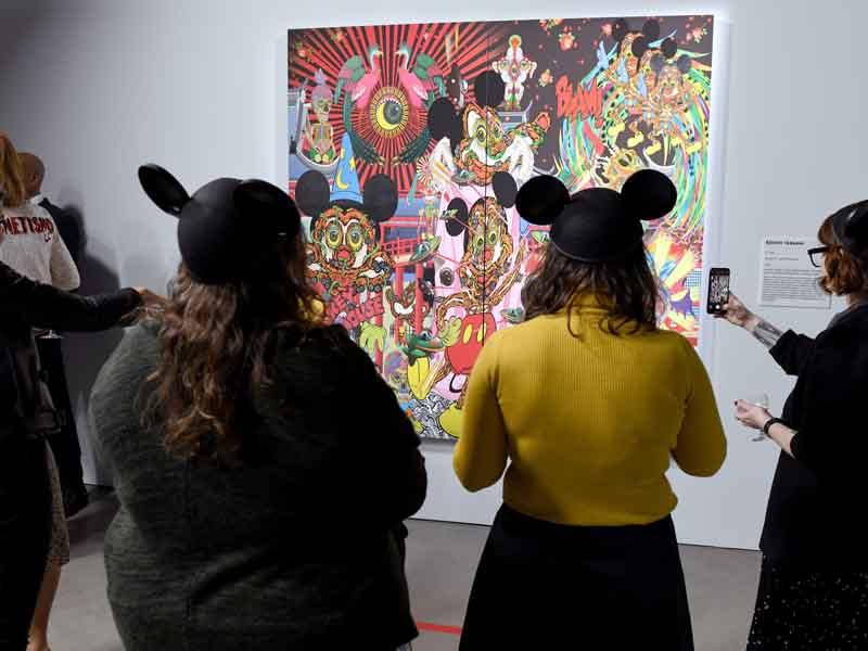 Inauguran exposición de Mickey Mouse