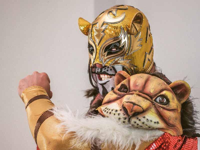 Puma King y su rugido luchístico