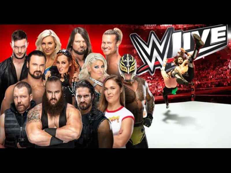 Así será el Live Mexico Tour de WWE