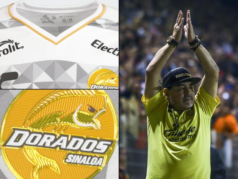El nuevo kit de los Dorados de Maradona