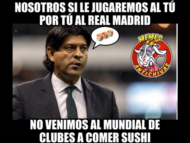 Memes por la derrota de Chivas en el Mundial de Clubes