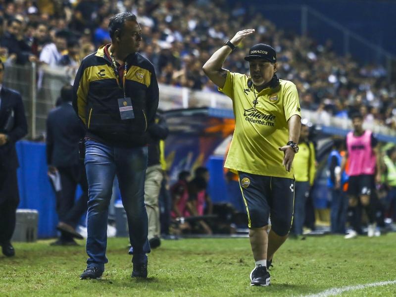 La maldición que persiguió a Maradona hasta Dorados
