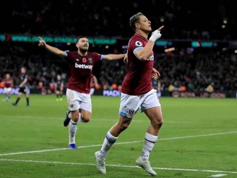 Con anotación de 'Chicharito', el West Ham saca la victoria