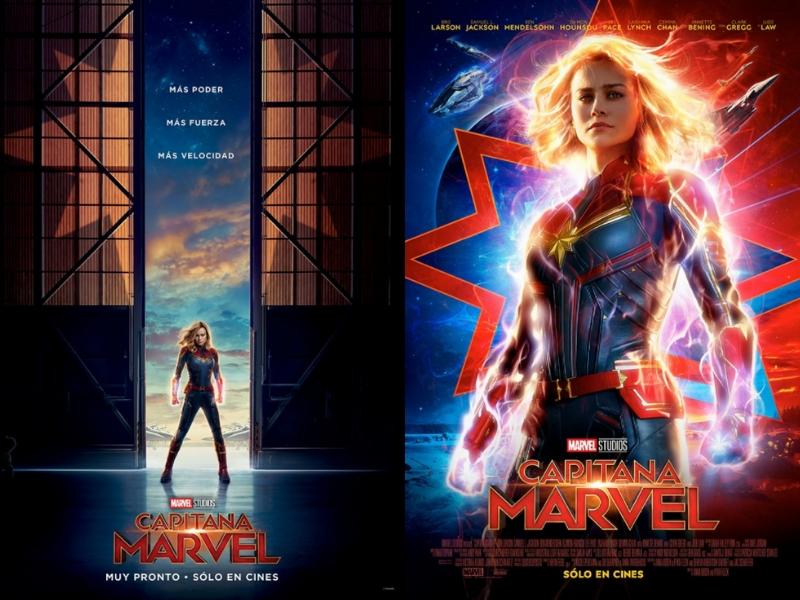 Revelan nuevo póster de Capitana Marvel