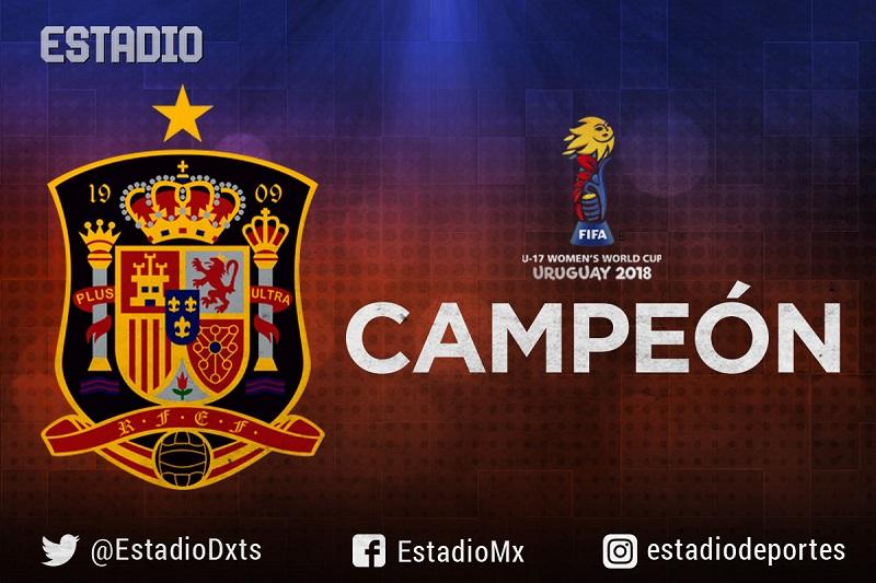 México subcampeón del Mundial Femenil Sub-17