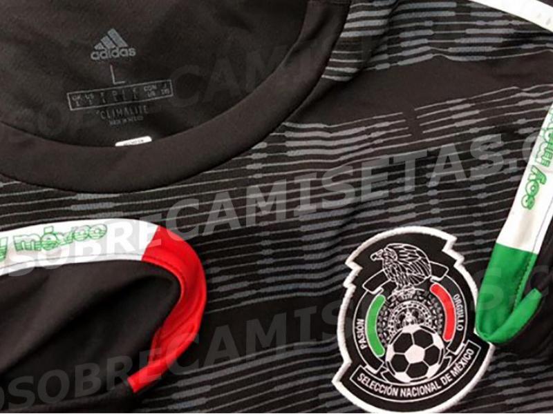 Se filtra nueva camiseta de Selección Mexicana