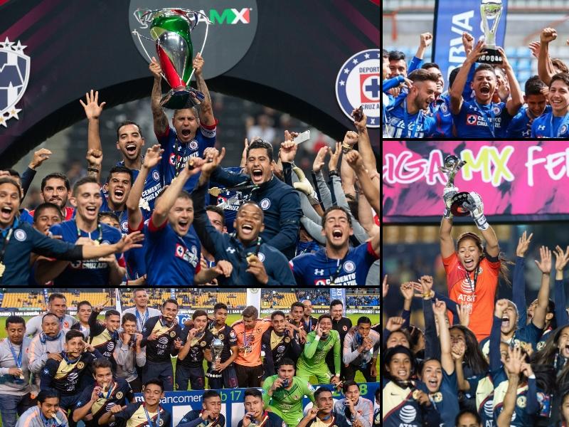La capital se adueña de todo el futbol mexicano