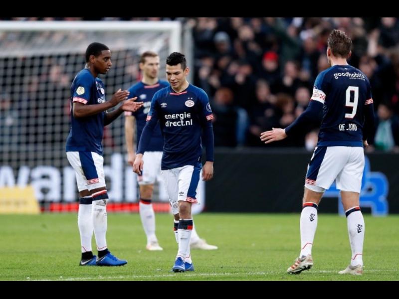 El PSV perdió el paso perfecto