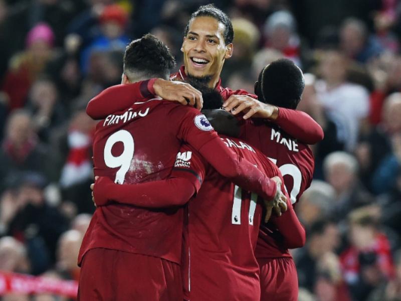 Liverpool golea al Arsenal y se mantiene invicto