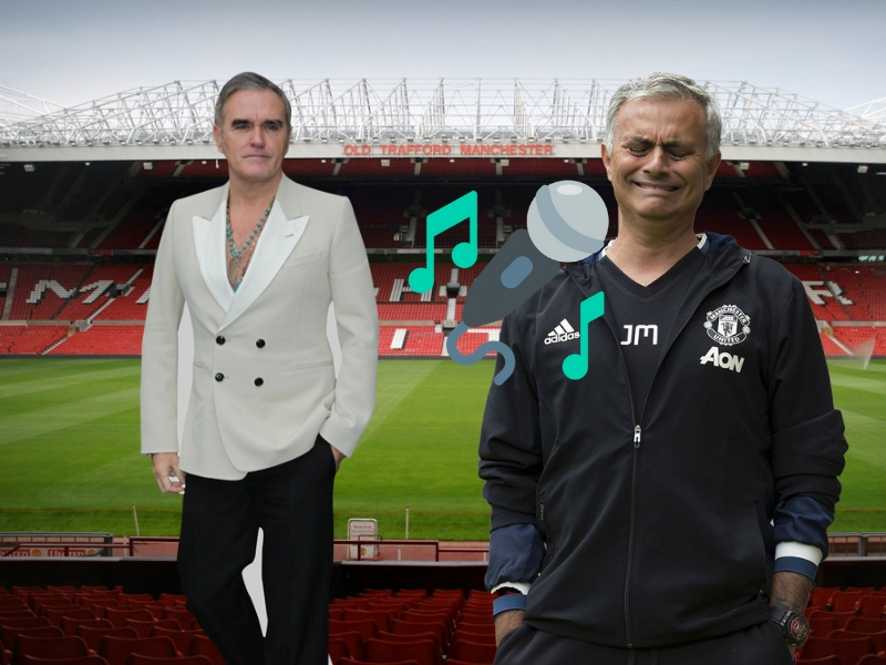 Despiden a Mourinho con canción de Morrissey