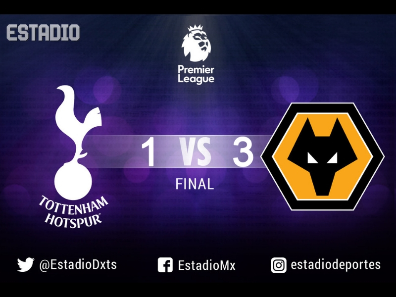 Con gol de Raúl Jiménez, los Wolves vencen al Tottenham
