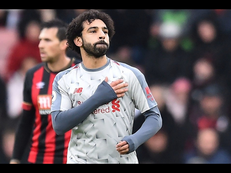 Video: Salah despertó y anotó un hat-trick