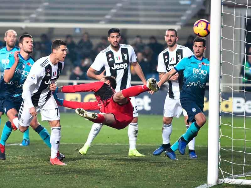Revive el gol de CR7 que salva a la Juventus