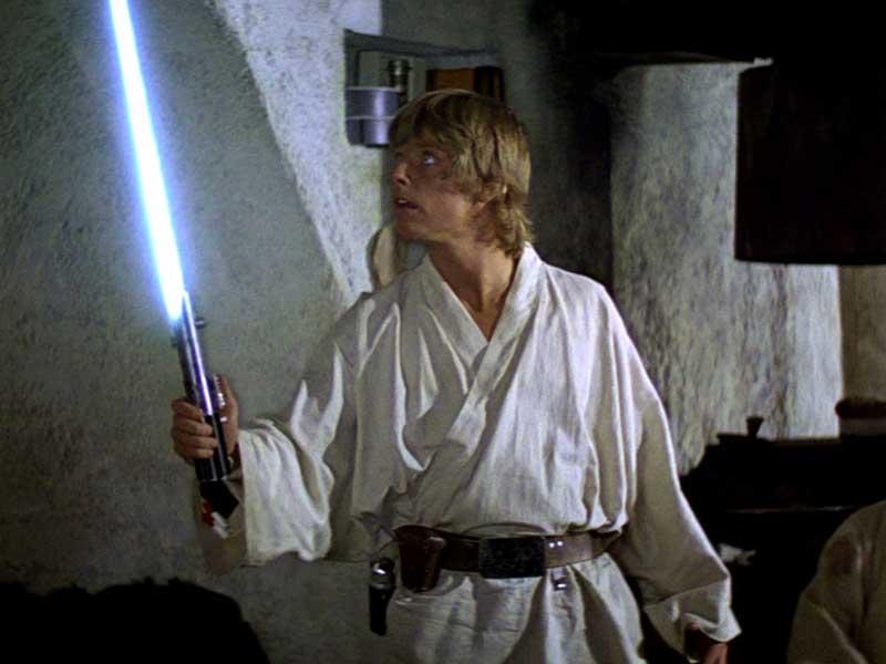 Sable láser de Luke Skywalker será subastado