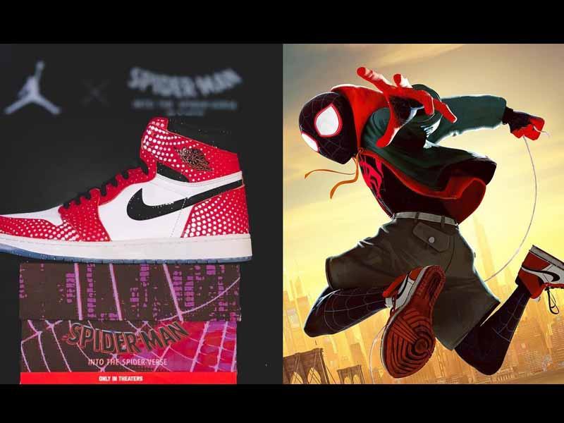 Air Jordan se une a Spider-Man para crear estos tenis