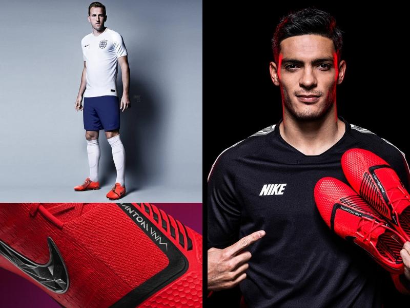 Los espectaculares Nike Phantom VNM de Raúl Jiménez
