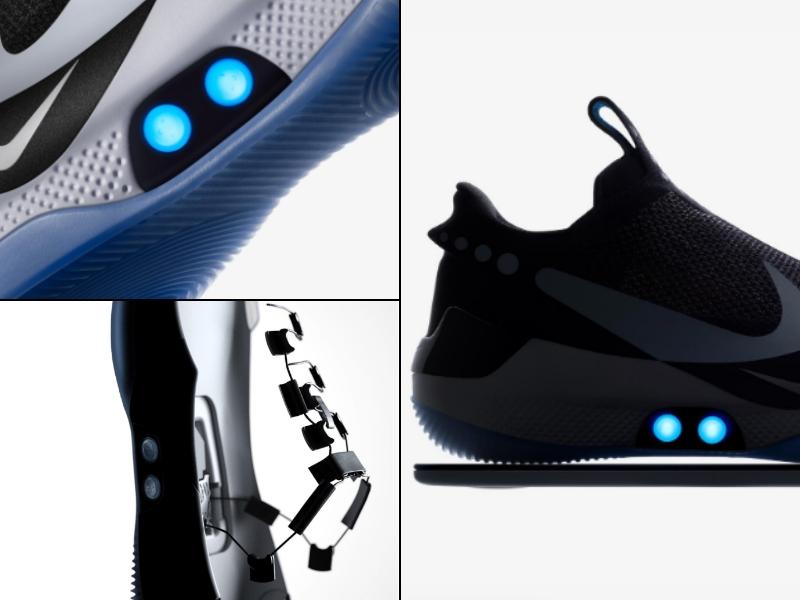Nike rompe el mercado con los HyperAdapt BB, edición 'Volver al futuro'