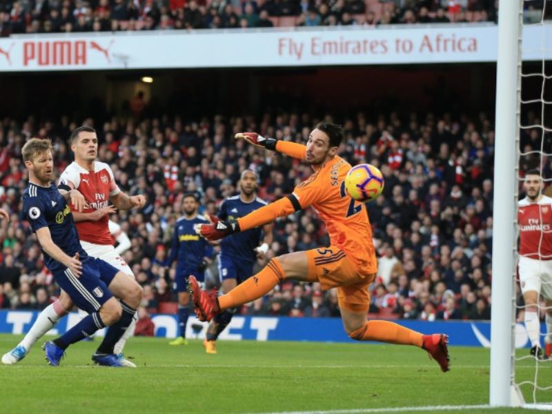 Arsenal goleó al Fulham