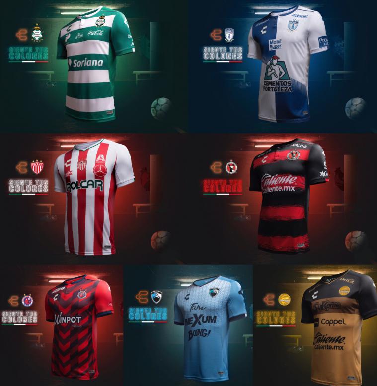 Informar Arruinado pedestal  Marca mexicana acapara los jerseys de la Liga MX - Estadio Deportes