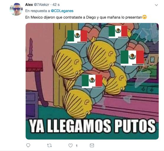 Diego Reyes jugará con el Leganés