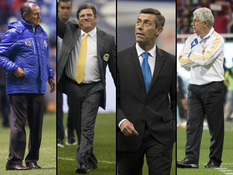 Así llegan los entrenadores al Clausura 2019