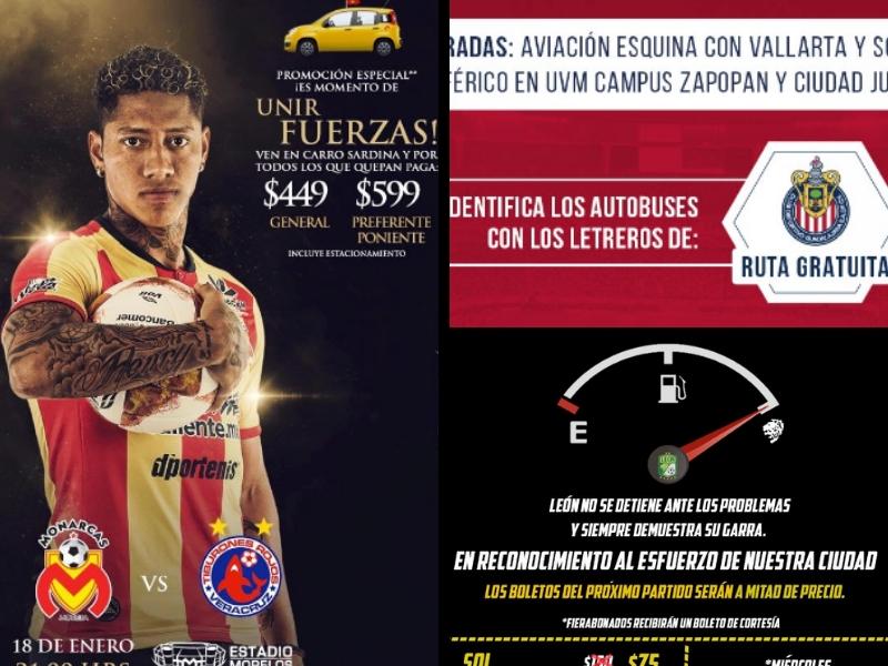 Clubes mexicanos se solidarizan con desabasto de gasolina
