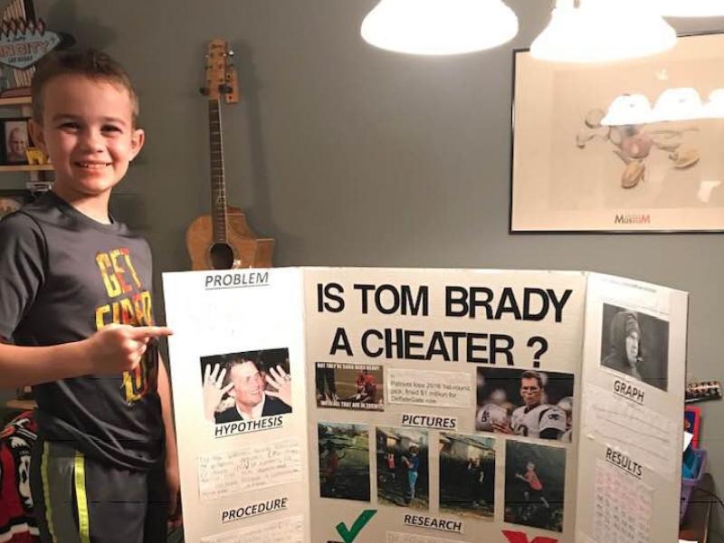 Niño de primaria descubre trampas de Tom Brady