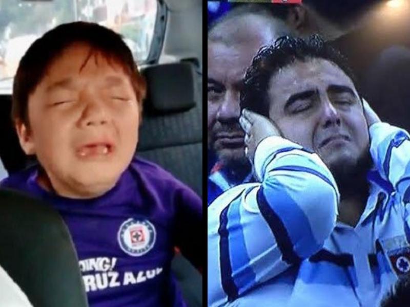 Cruz Azul pierde en el #10YearsChallenge