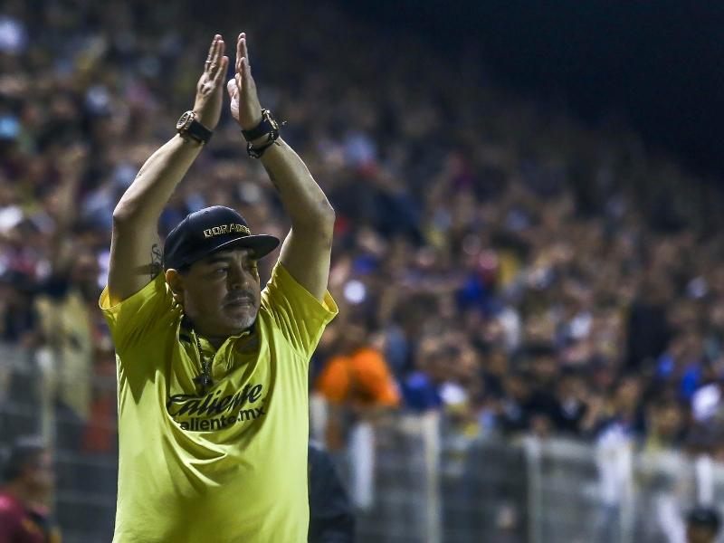 ¿Regresará Maradona a Dorados?