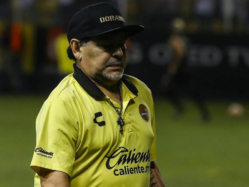 Maradona retrasaría su llegada a Dorados