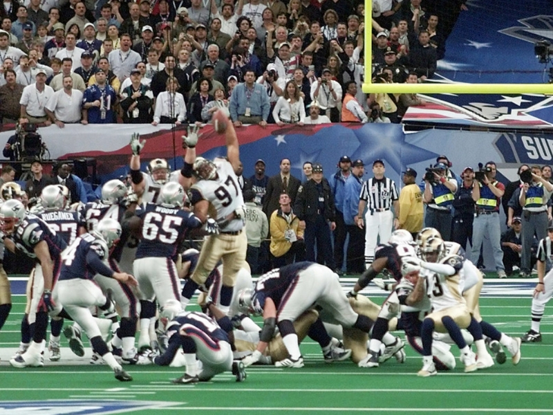 Qué pasaba en México cuando Rams y Patriots disputaron el Super Bowl