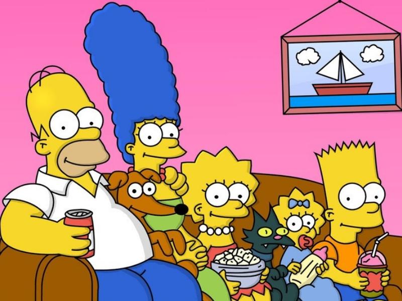 Los Simpsons se desintegran