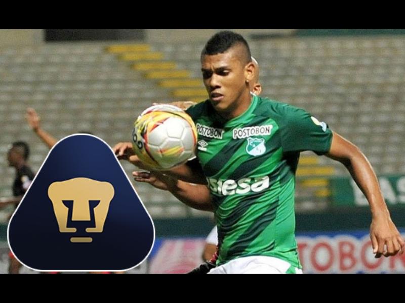 ¿Quién es Jeison Angulo, nuevo refuerzo de Pumas?