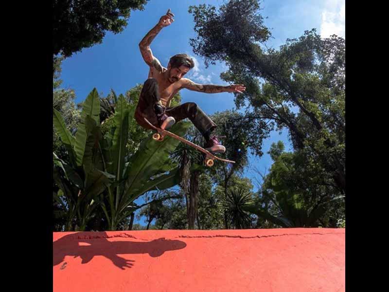 Max Barrera busca sangre nueva de skaters en México