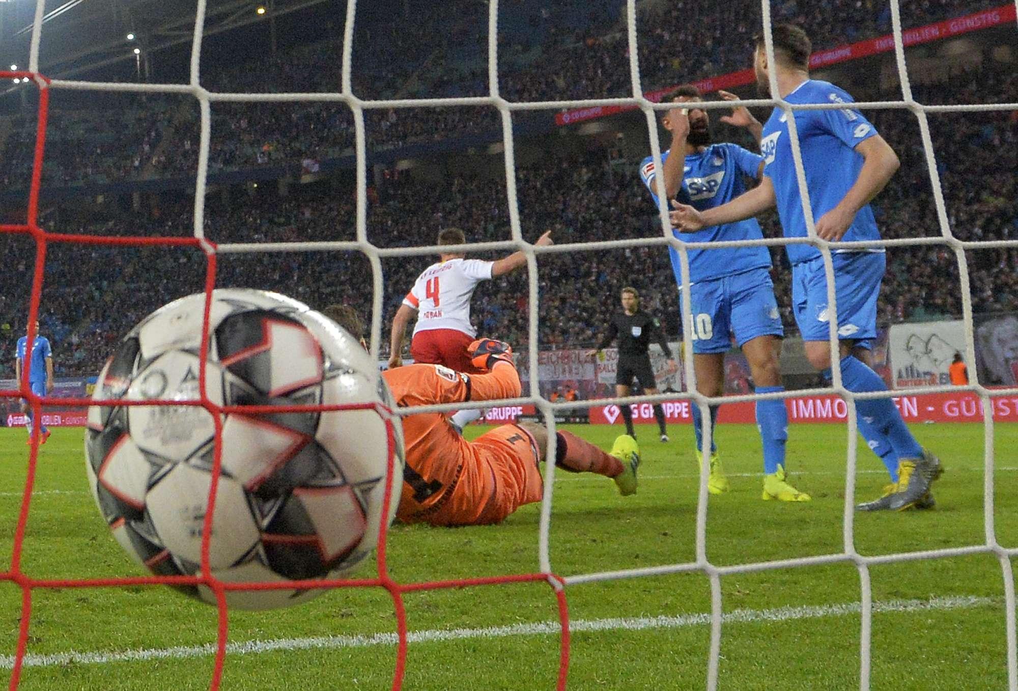 Leipzig empata 1-1 y sigue rumbo a la Liga de Campeones