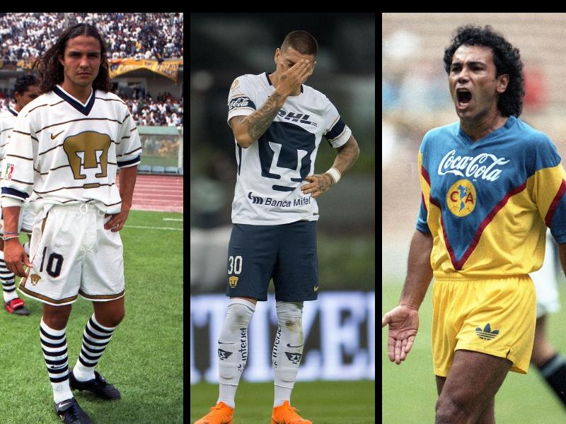 Jugadores que traicionaron a Pumas y ficharon con el América