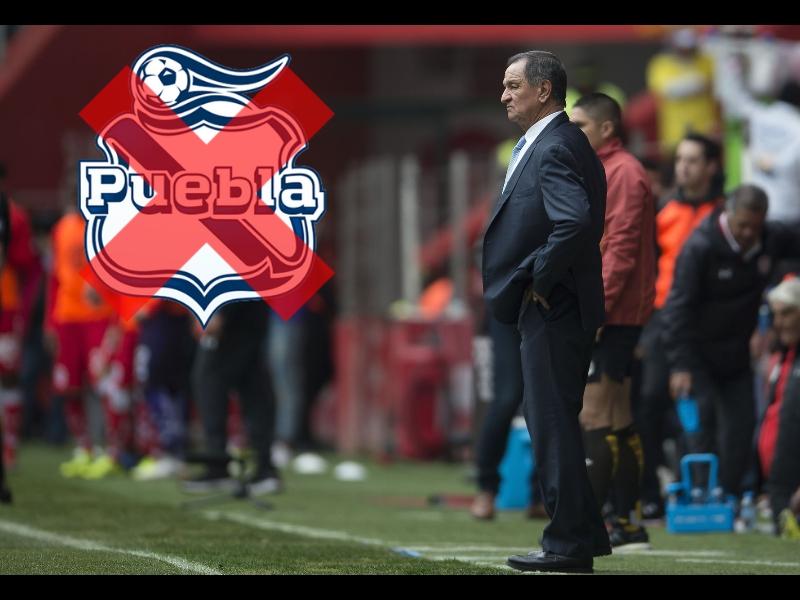 Enrique Meza deja de ser entrenador de Puebla