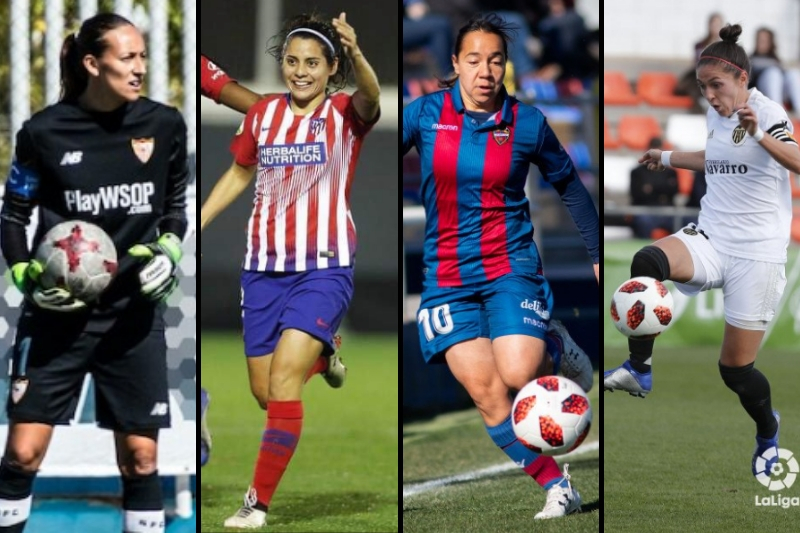 Futbolistas mexicanas en el extranjero