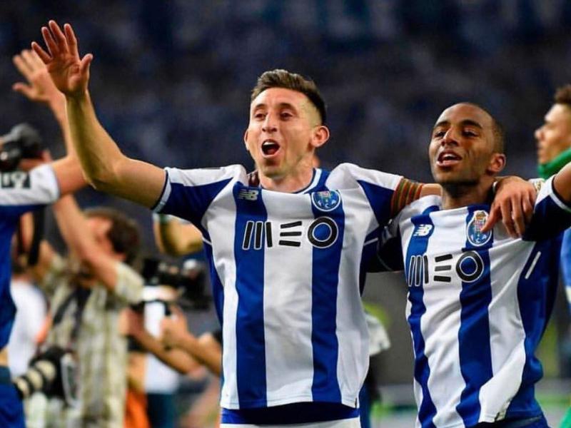 Héctor Herrera le da el empate al Porto