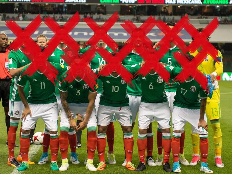 El 11 infame de la Selección Mexicana