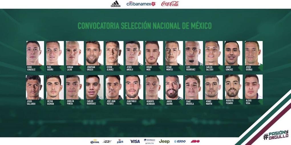 Nuevos rostros de la Selección Mexicana